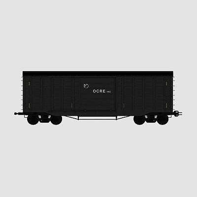 火车货车车厢