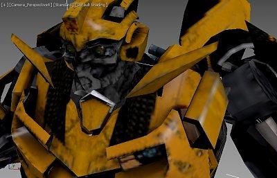 大黄蜂 变形金刚