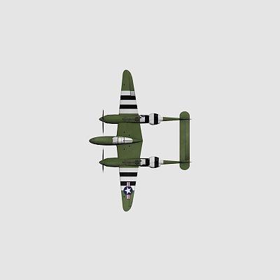 p3 二战飞机