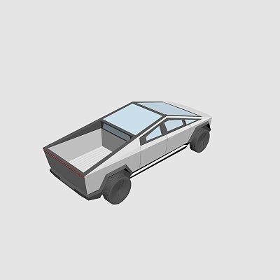 特斯拉概念车 tesla