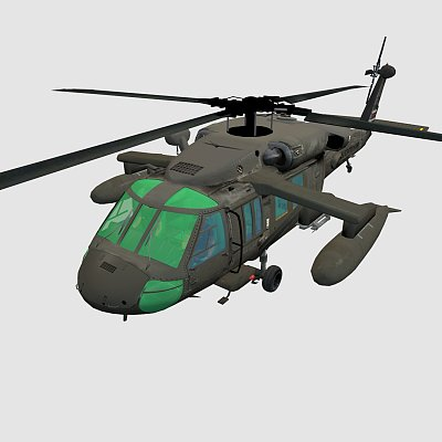 黑鹰武装直升机