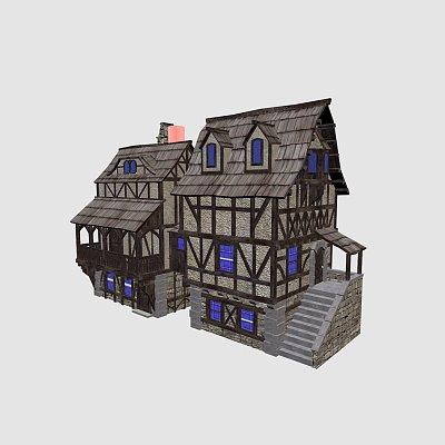古典石头房子