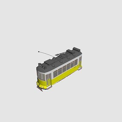 有轨电车 公交车