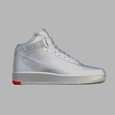 白色耐克鞋子