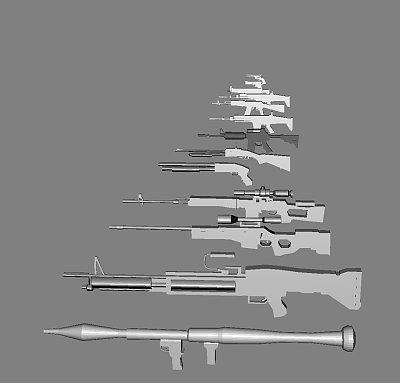 枪支【合集】