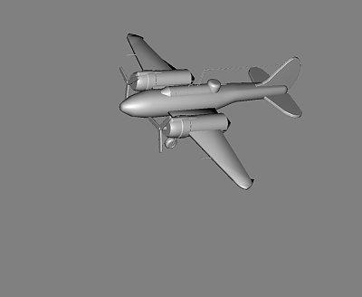 p2二战飞机