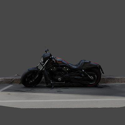 摩托车 Harley Harleevich