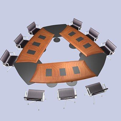 会议桌组合4