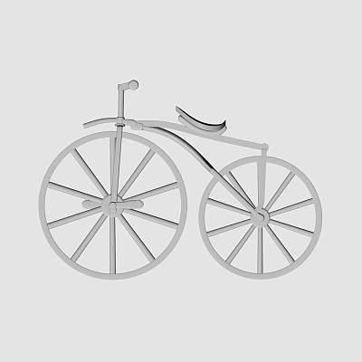 古董自行车