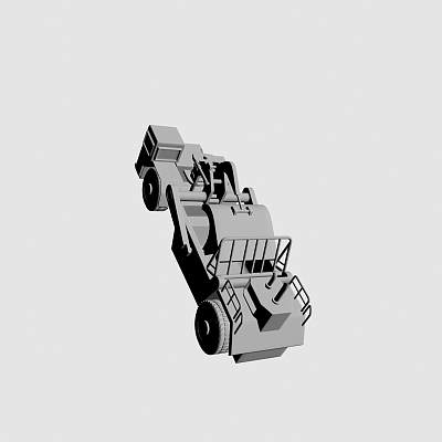 收割机 拖拉机