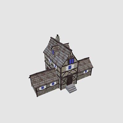 中古世纪房子