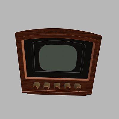 古董电视机