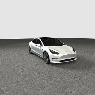tesla model 3 / 特斯拉