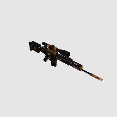 SCAR-20狙击枪