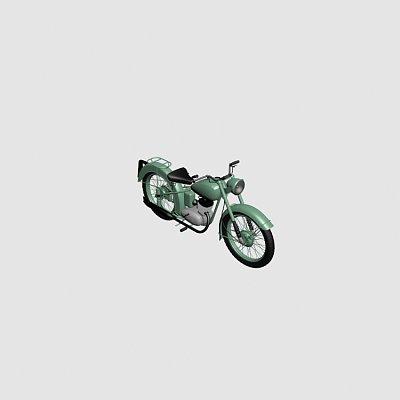 过时摩托车
