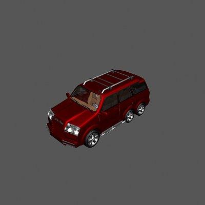 越野吉普车