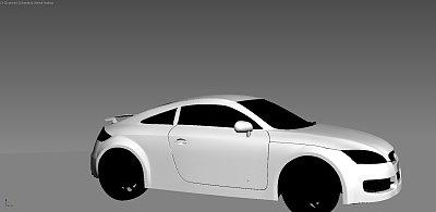 Audi-TT 车
