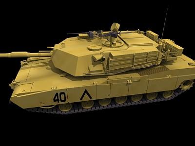 ABRAMS坦克