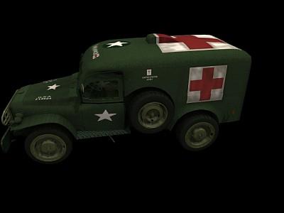 军用救护车