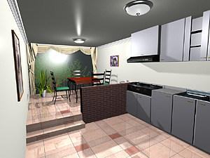 小两口的厨房