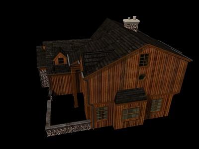 C300012 木屋