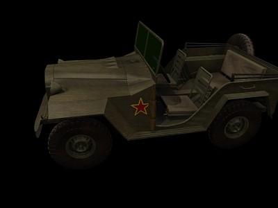 GAZ67B军用吉普车