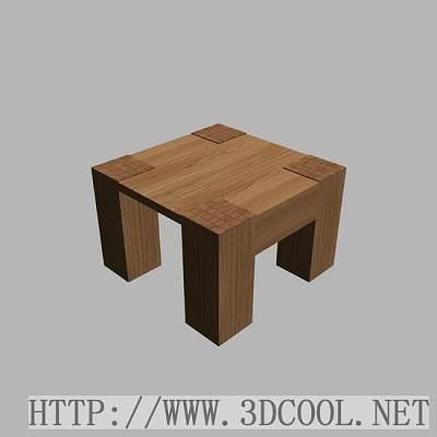 家具.桌子.木头方桌